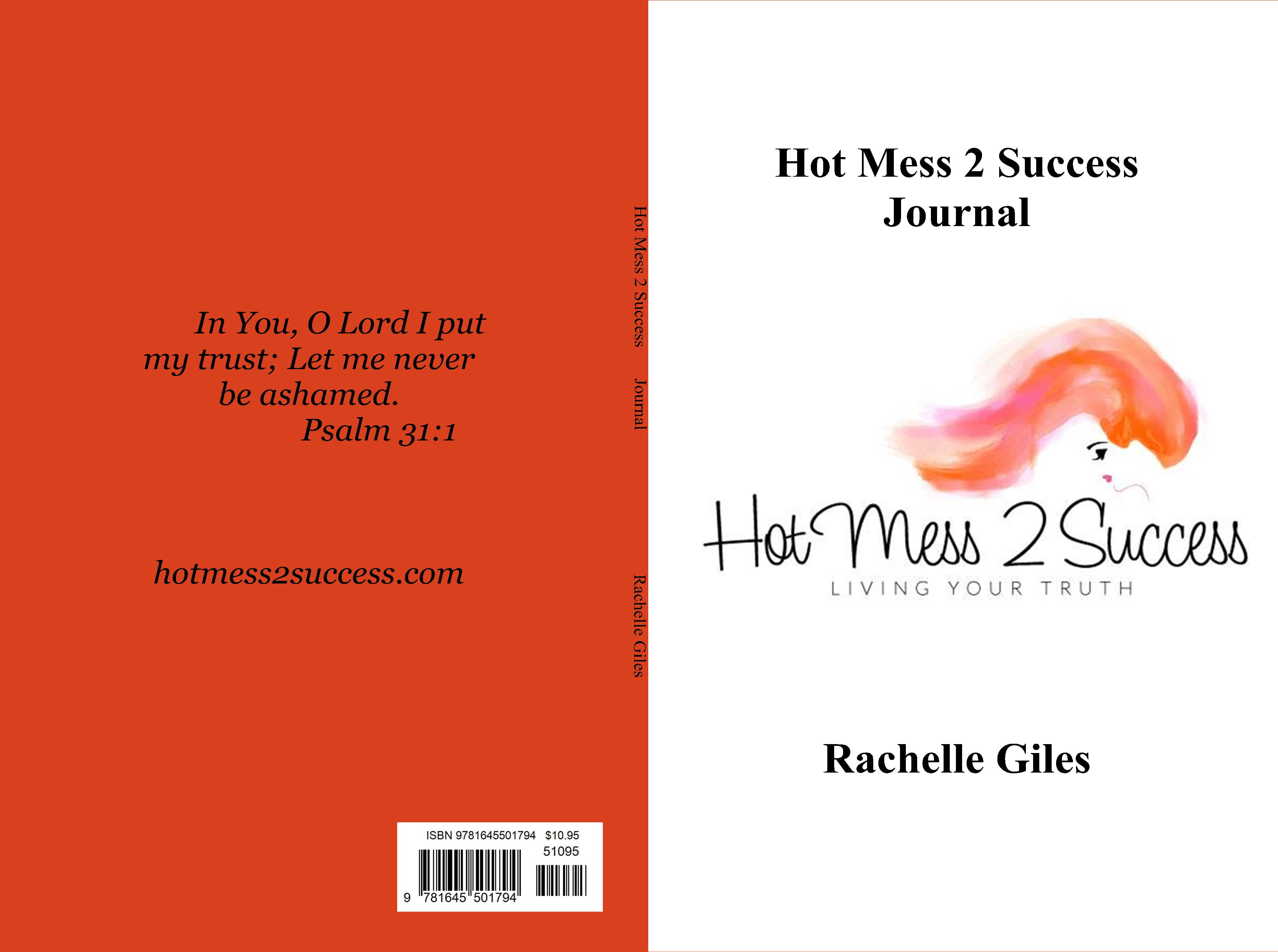 Hot Mess 2 Success Journal cover image