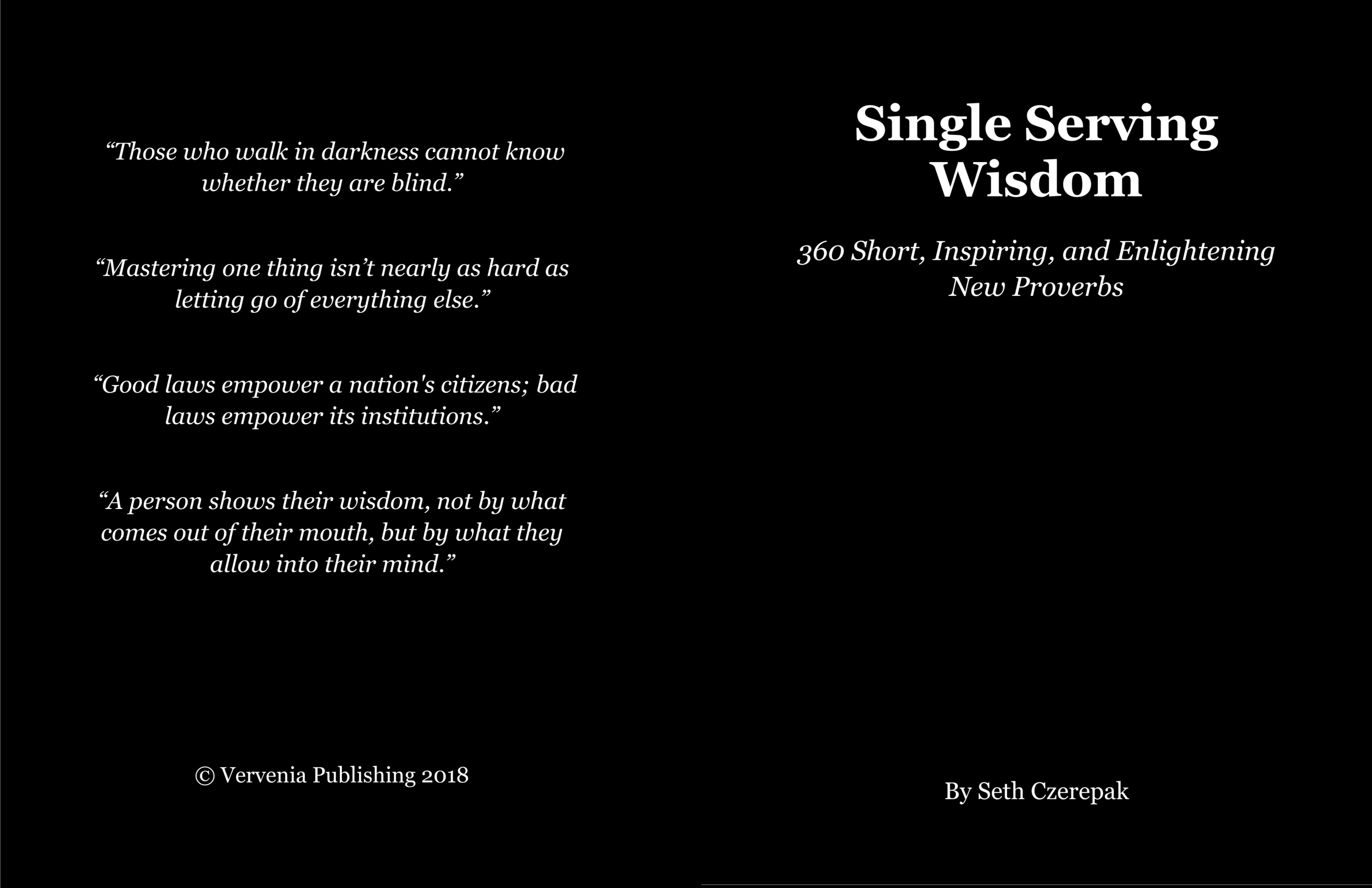 Single Serving Wisdom cover image
