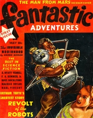 Fantastic Adventures 1939 May cover image