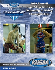 2019 Pannell Swim Shop/KHSAA Swimming & Diving Championship Program cover image