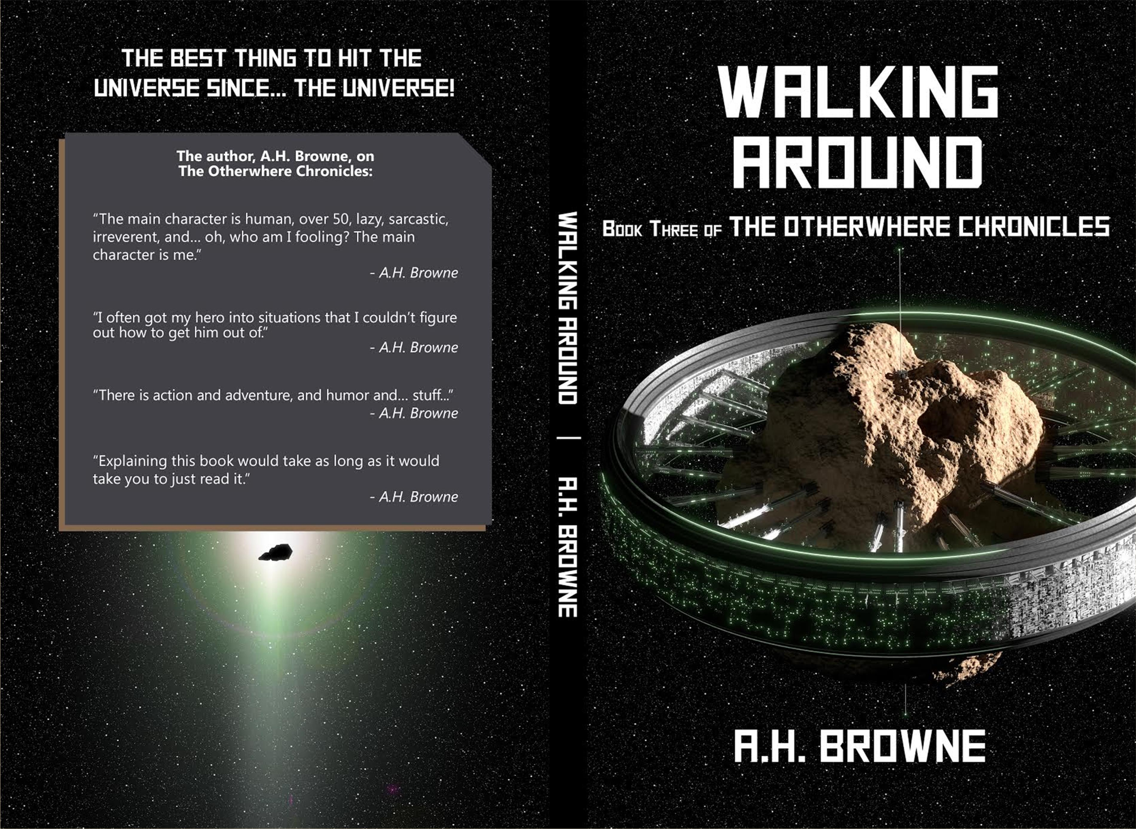 The Otherwhere Chronicles Book Three: Walking Around cover image
