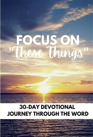 These Things Devotional cover image