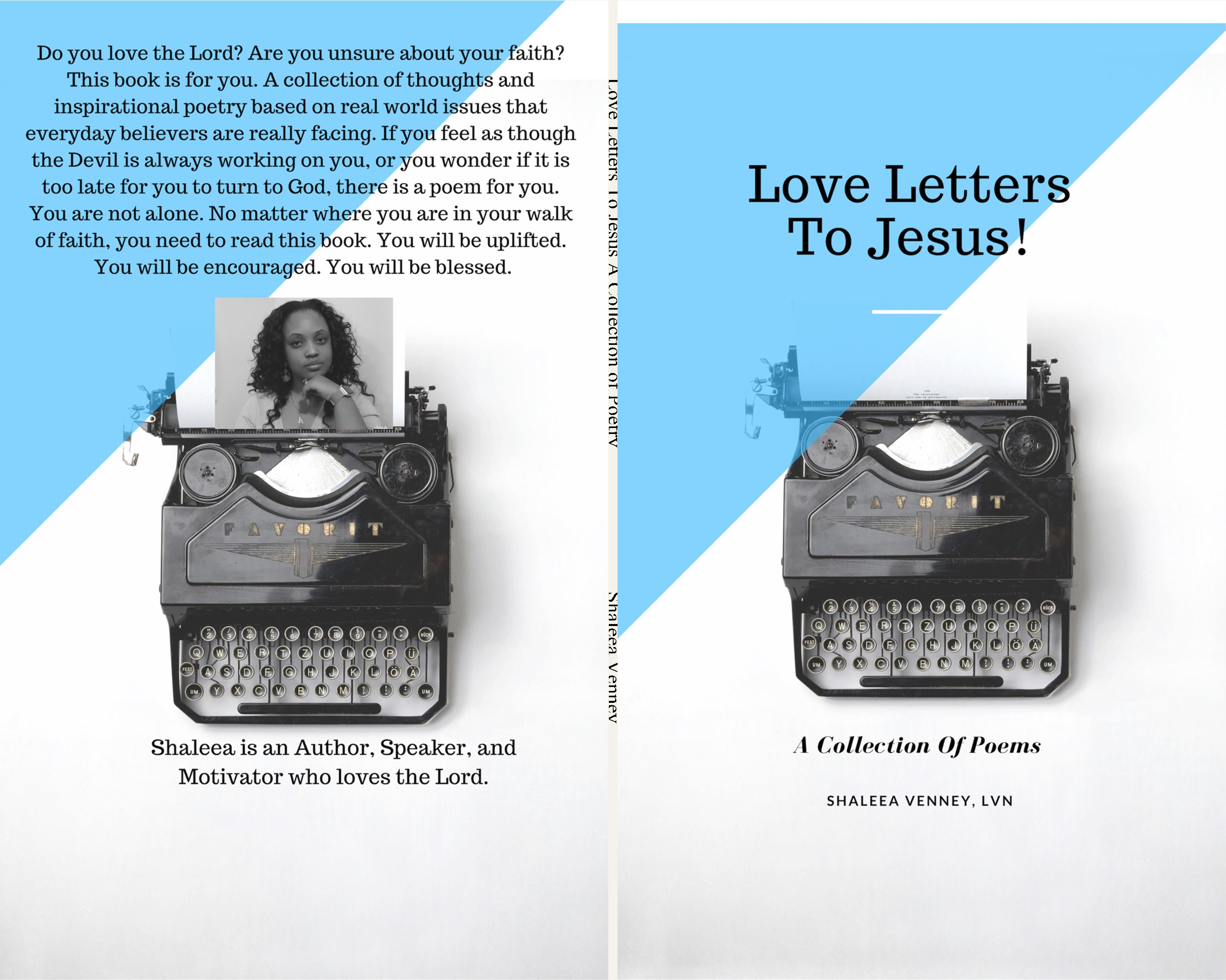 Love Letters To Jesus A Collection of Poetry cover image
