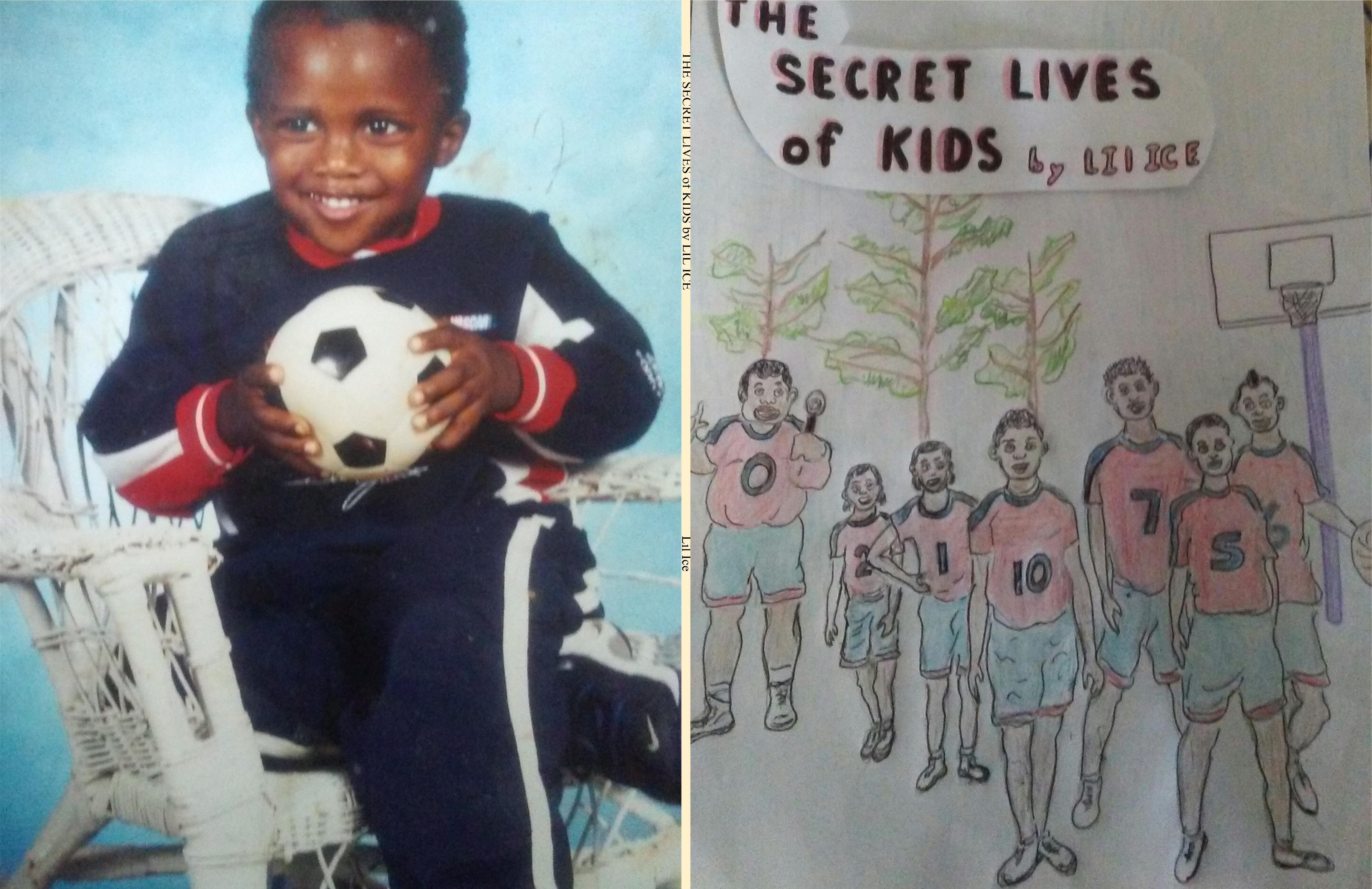 THE SECRET LIVES of KIDS by LIL ICE cover image