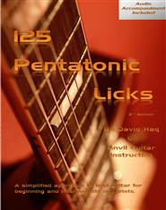 125 Pentatonic Licks cover image