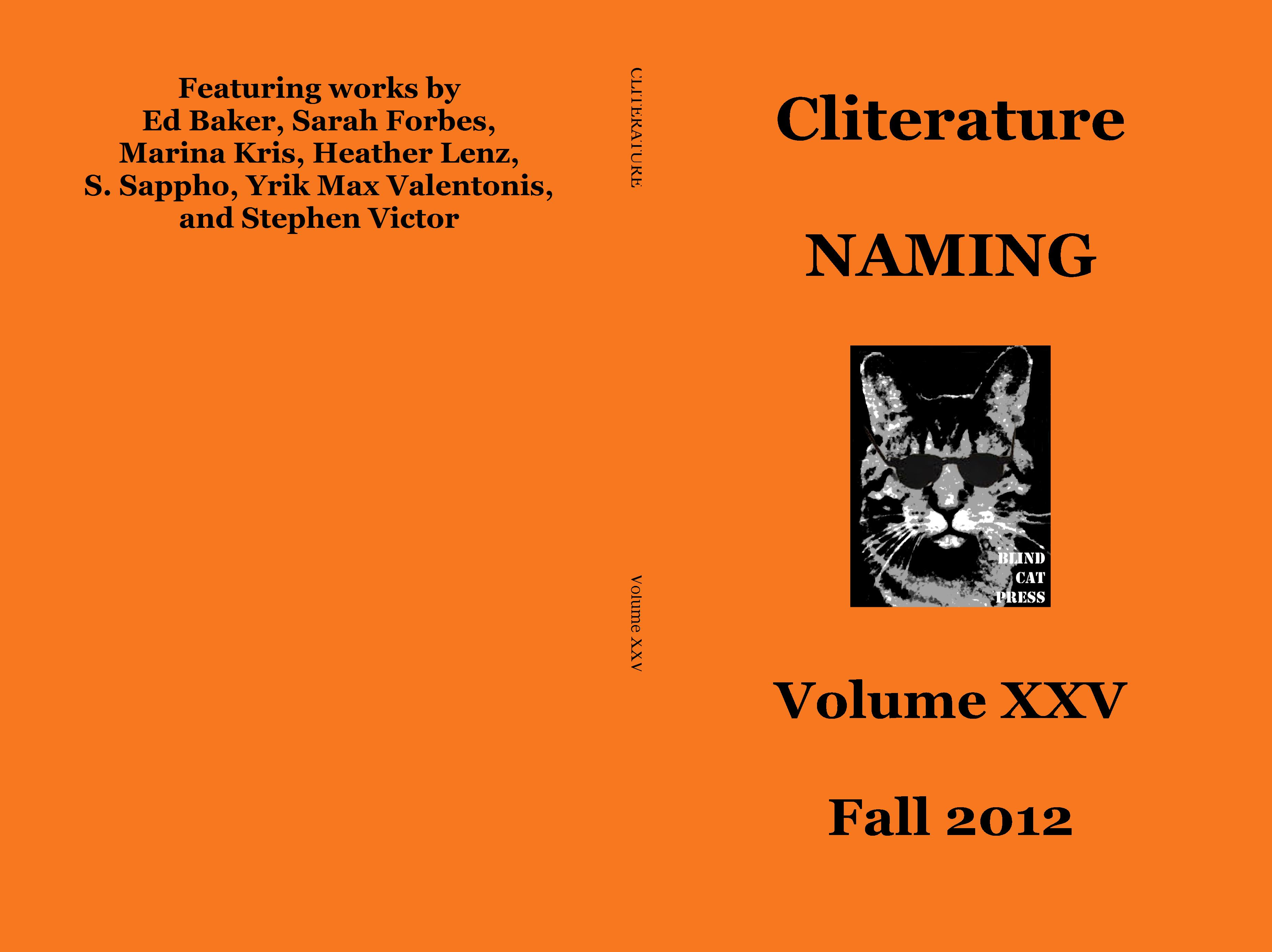 Cliterature NAMING cover image