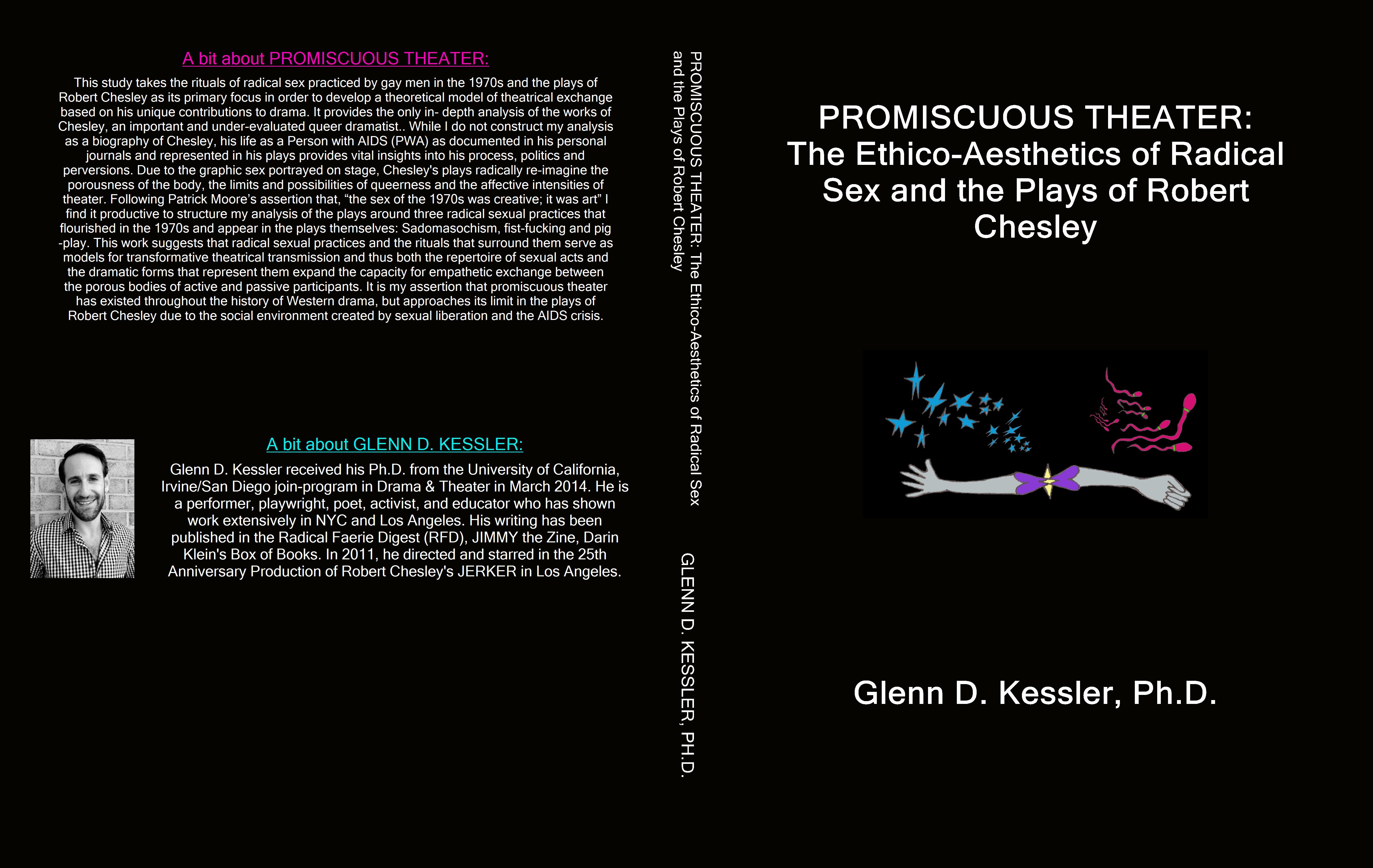 PROMISCUOUS THEATER: The Ethico-Aesthetics of Radical Sex and the Plays of Robert Chesley cover image