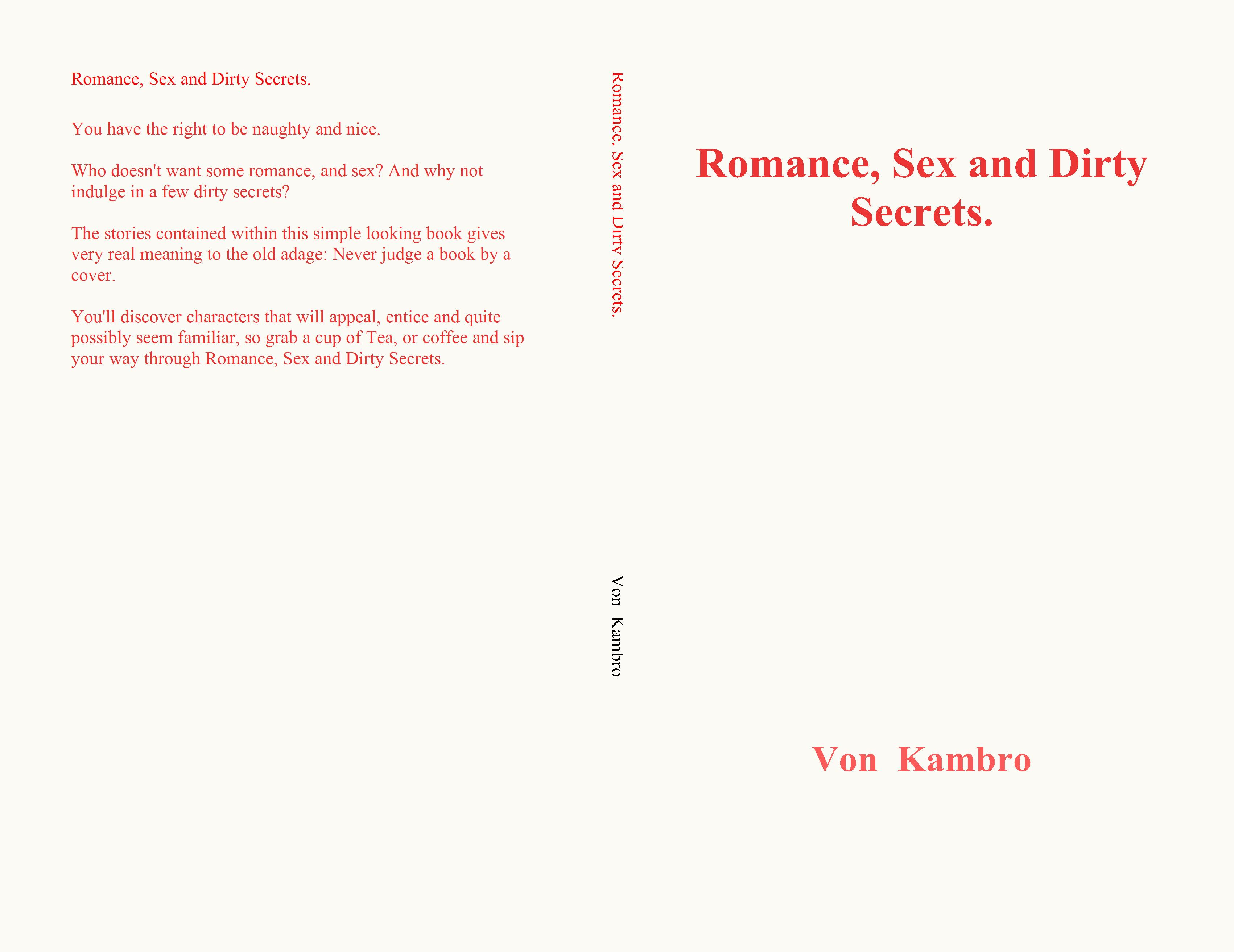 Romance, Sex and Dirty Secrets. cover image
