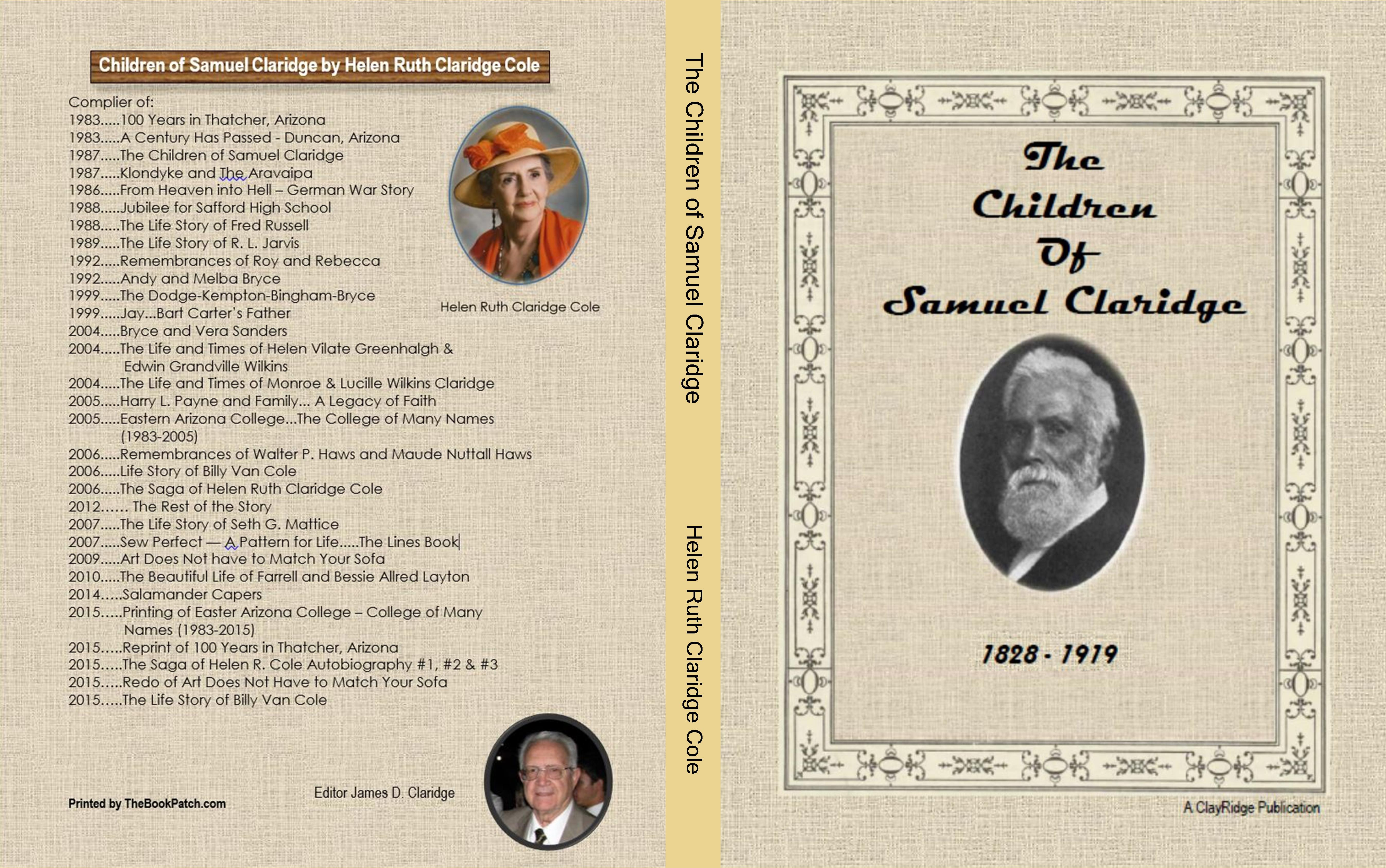 The Children of Samuel Claridge cover image