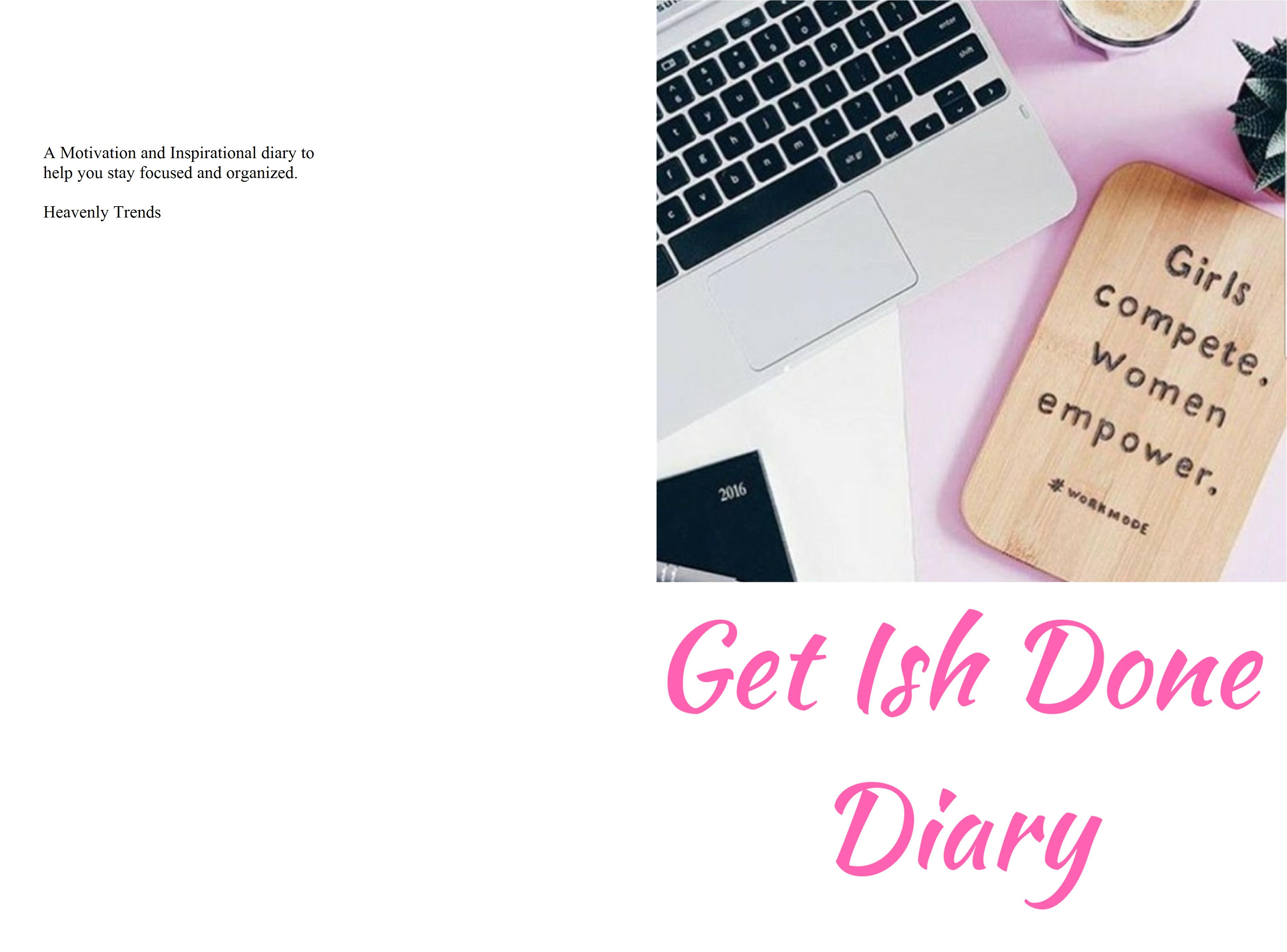 Get Ish Done Diary cover image