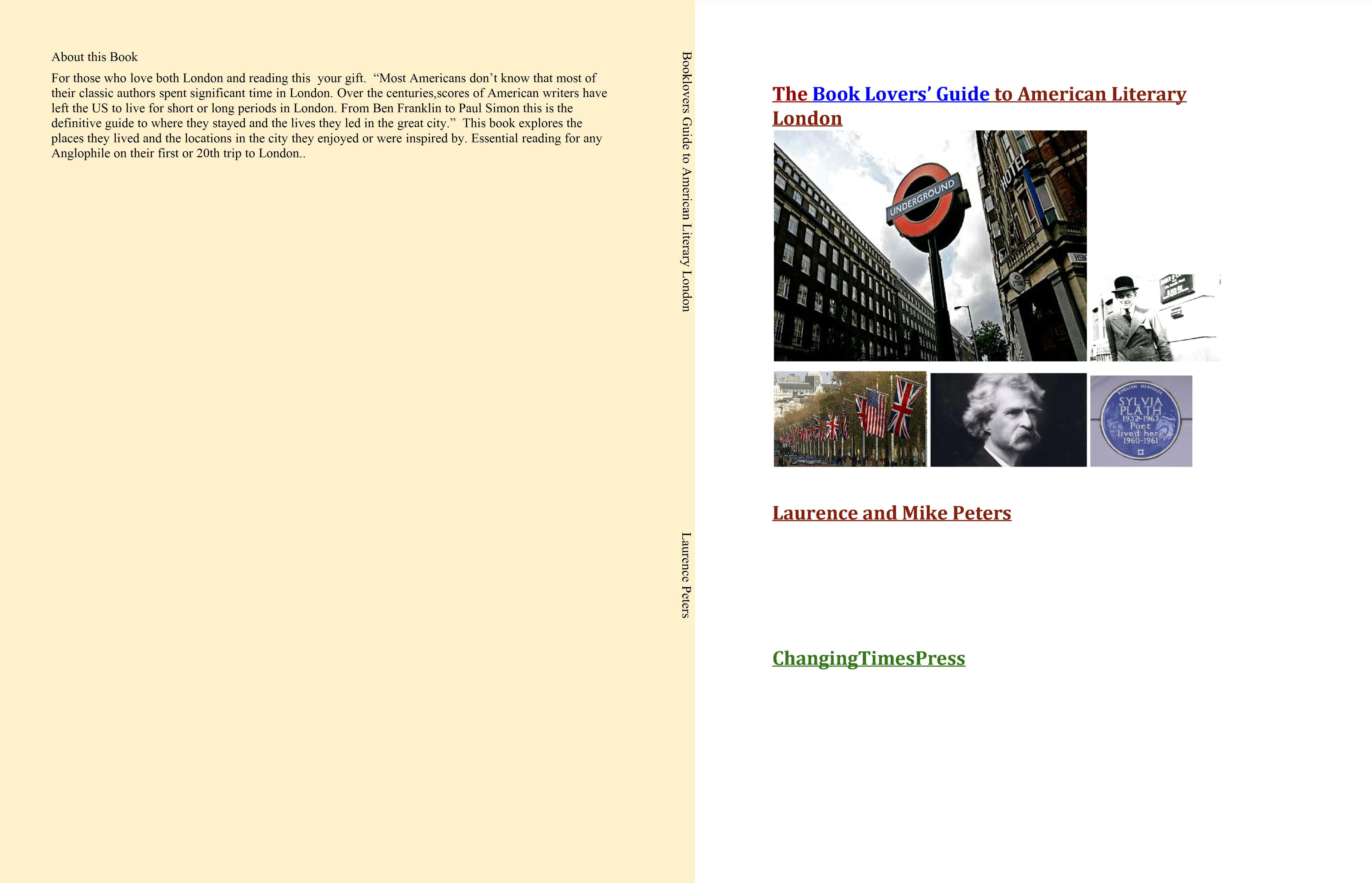Booklovers Guide to American Literary London cover image