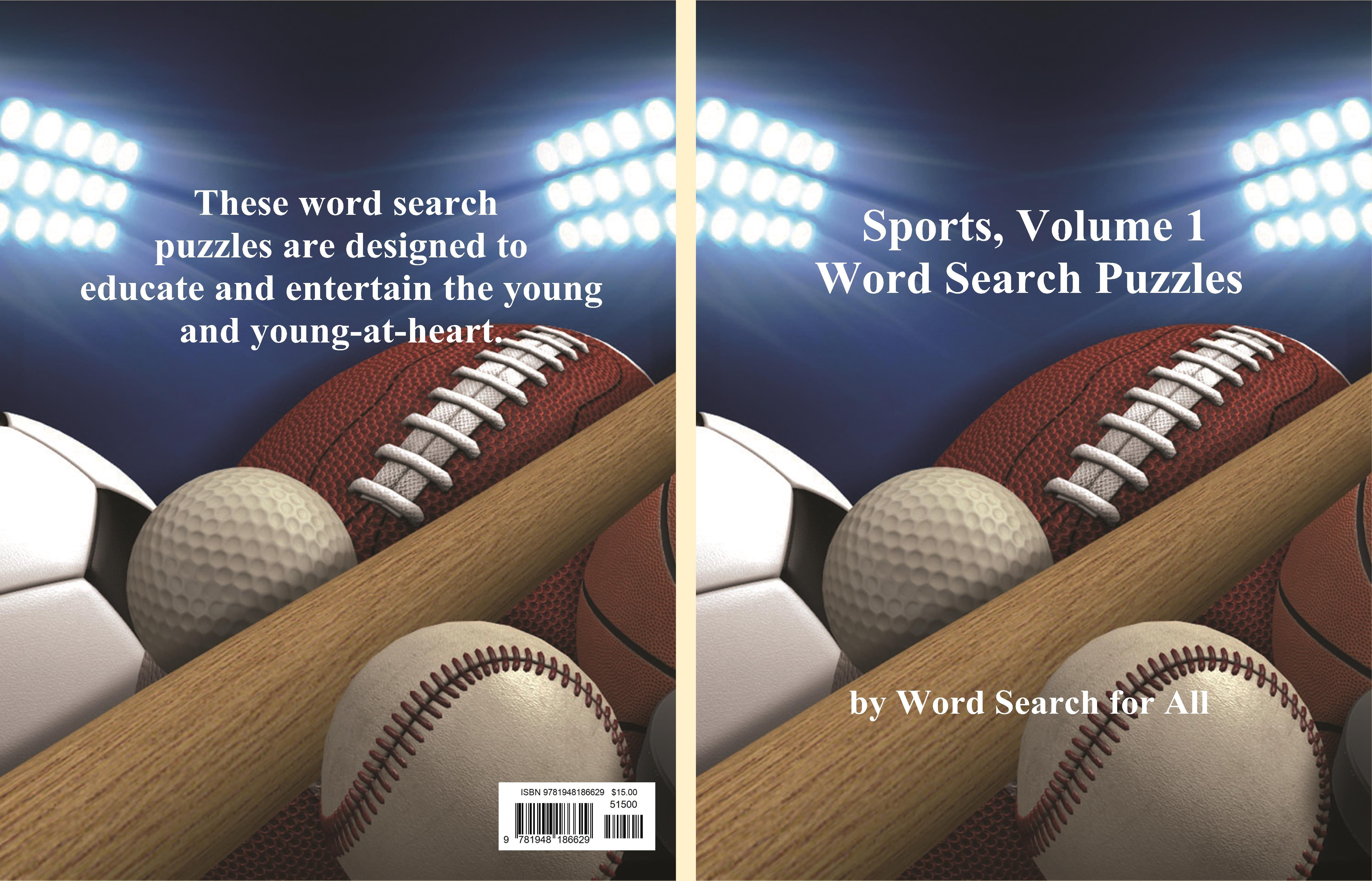 Sports, Volume 1 Word Search Puzzles cover image