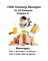 19th Century Receipts Volume 8 cover image