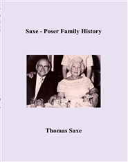 Saxe - Poser Family History cover image