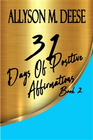 31 Days Of Positive Affirmations Book 2 cover image