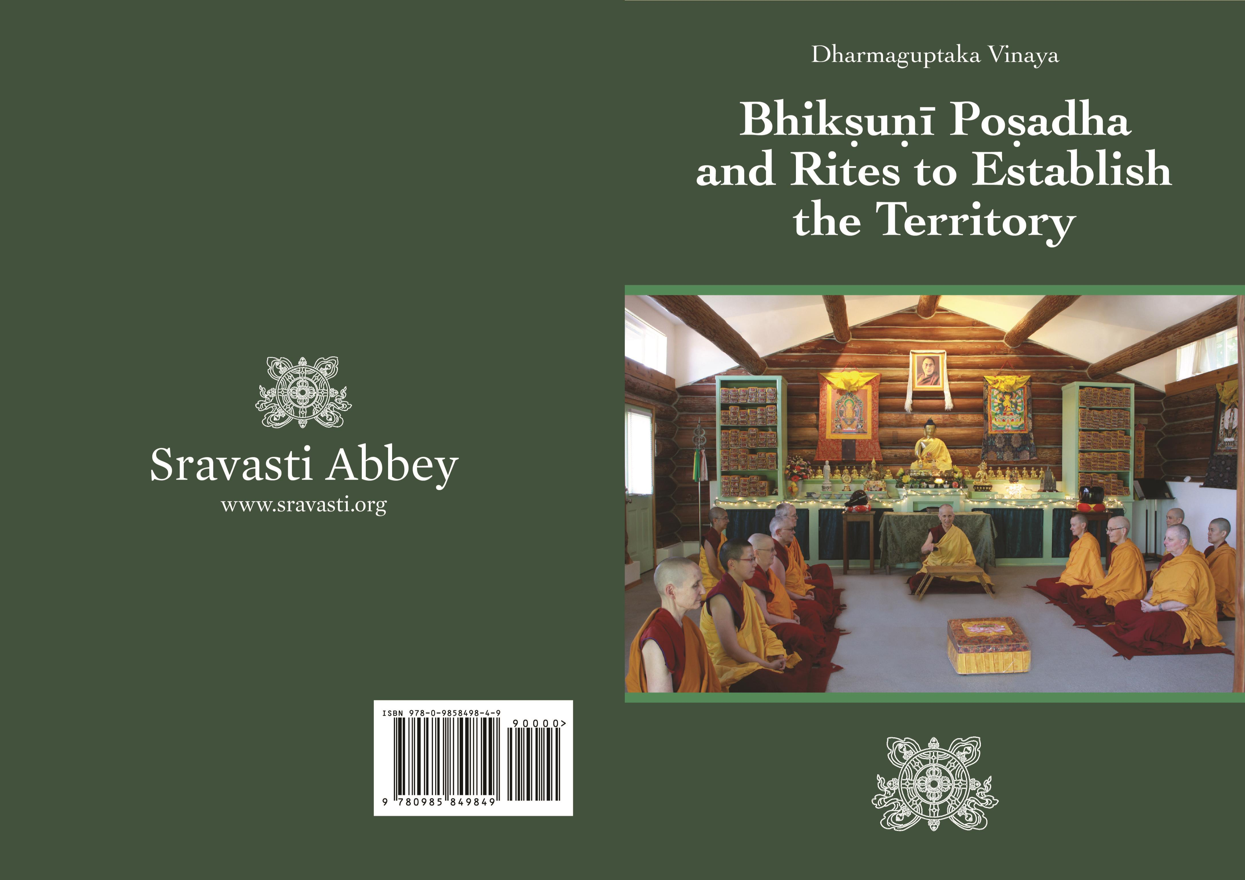 Dharmaguptaka Vinaya Bhiksuni Posadha and Rites to Establish the Territory cover image