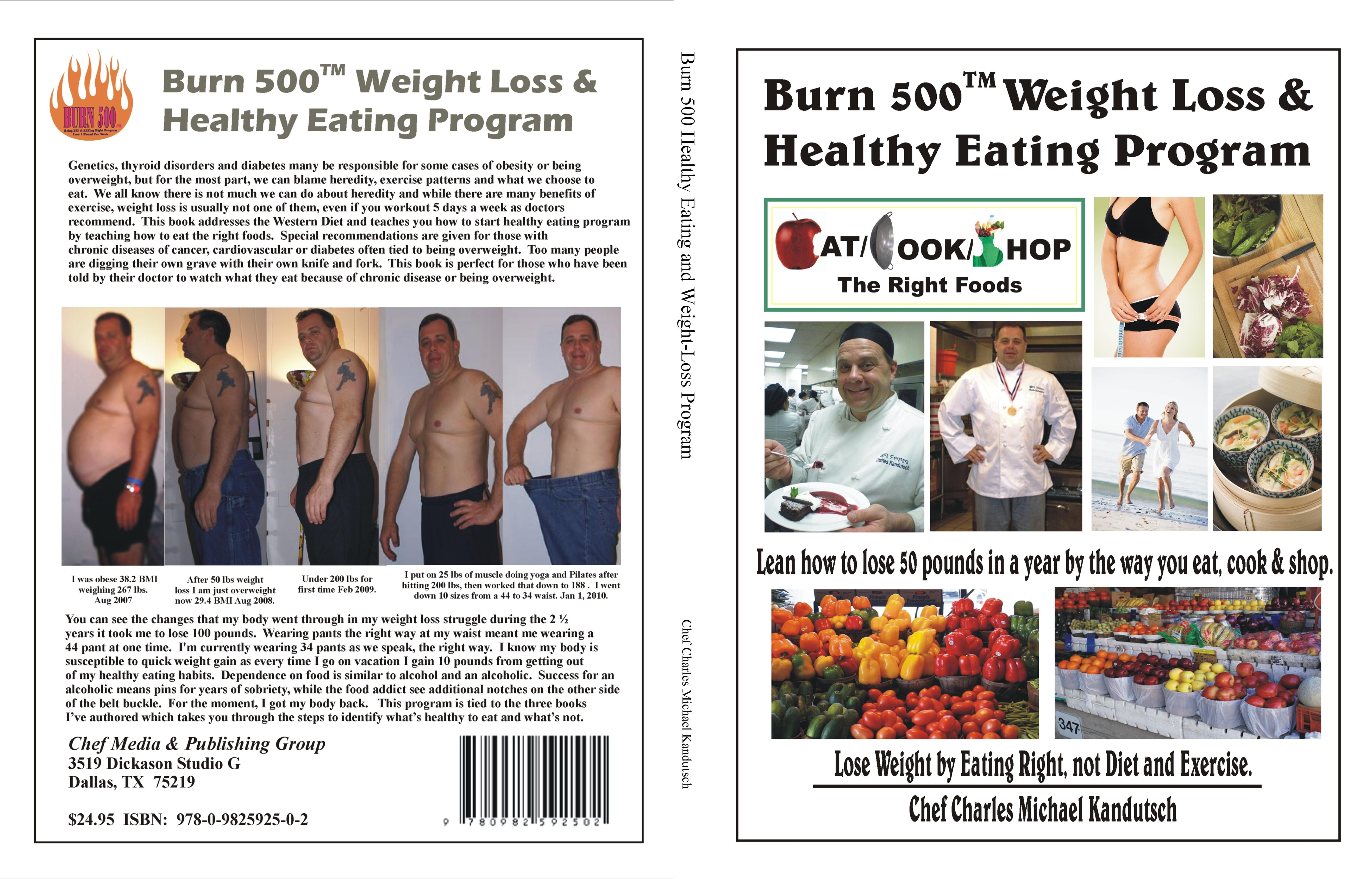 Burn 500 Healthy Eating and Weight-Loss Program cover image
