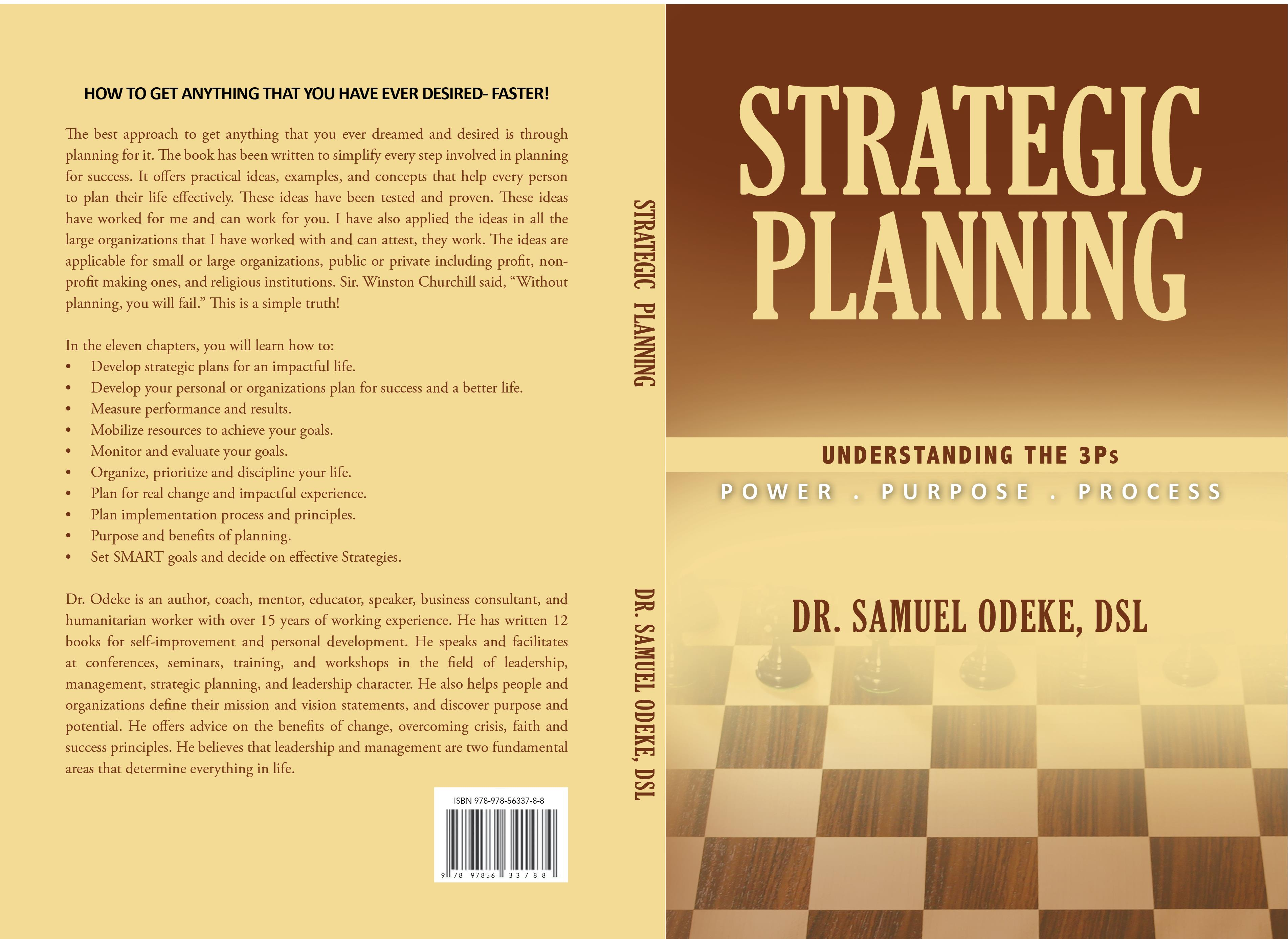 Strategic Planning: Understanding the 3 P's?The Power, Purpose and Process. cover image