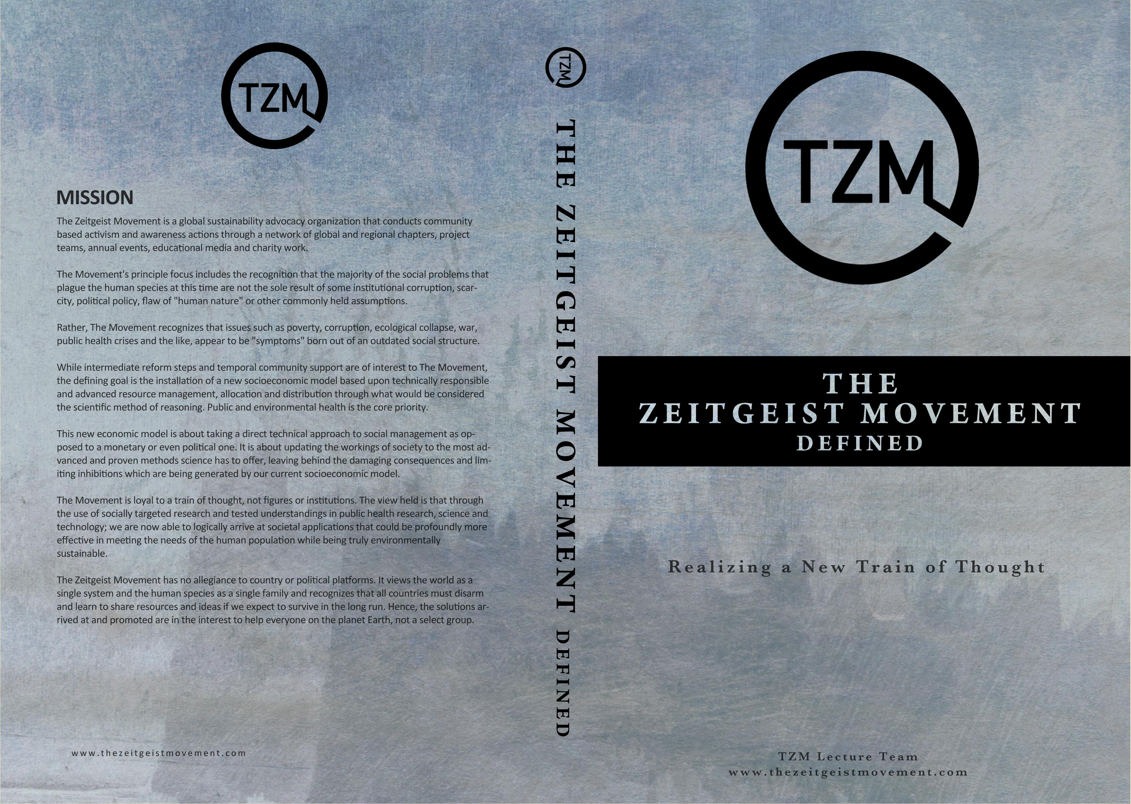 the zeitgeist movement defined pdf