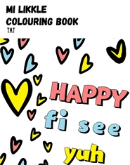 Mi Likkle Colouring Book cover image