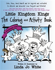 Little Kingdom Kings Activity and Coloring Book cover image