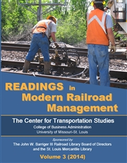 Readings in Modern Railroad Management, Volume 3 cover image