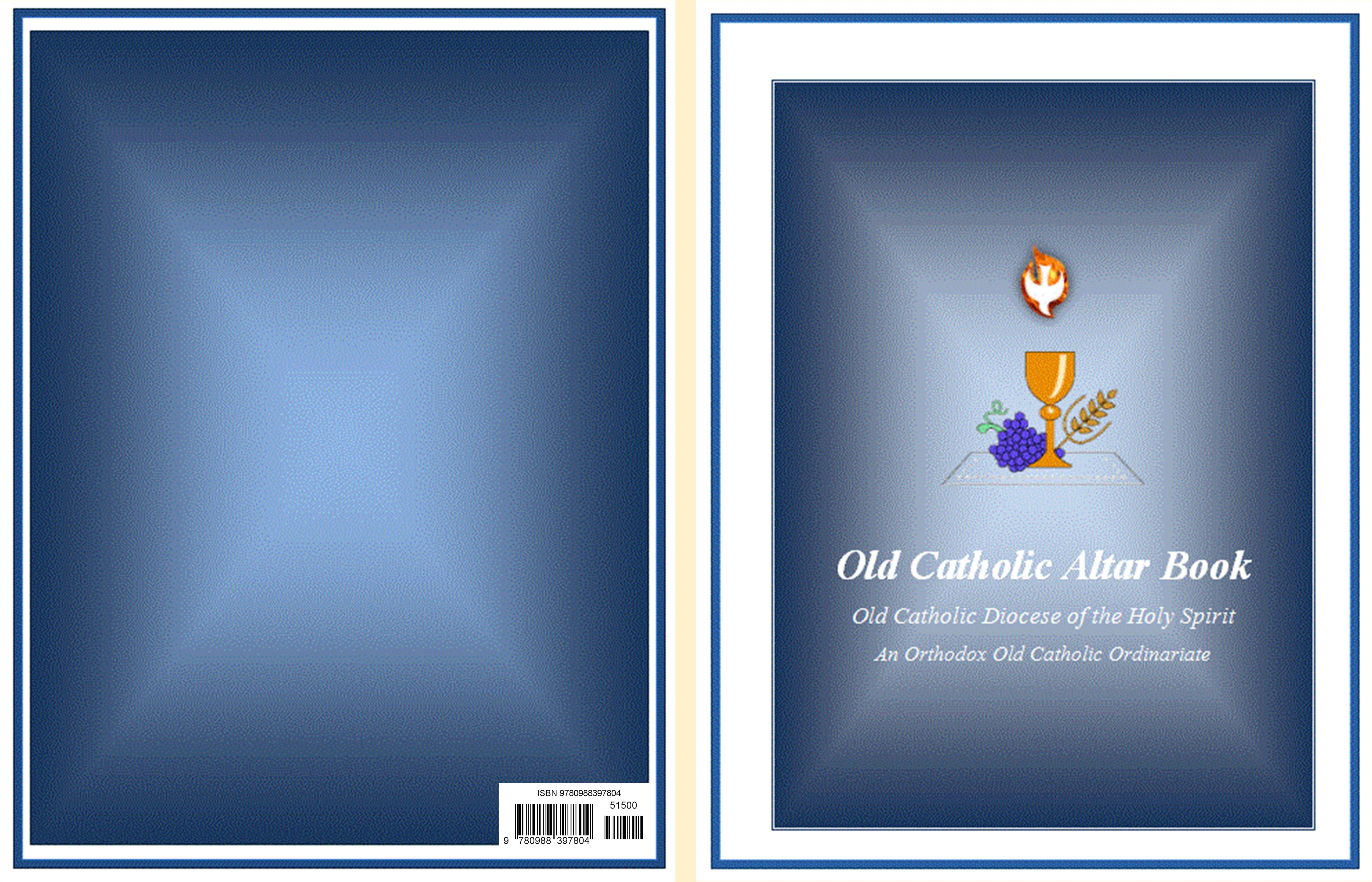 Old Catholic Altar Book cover image