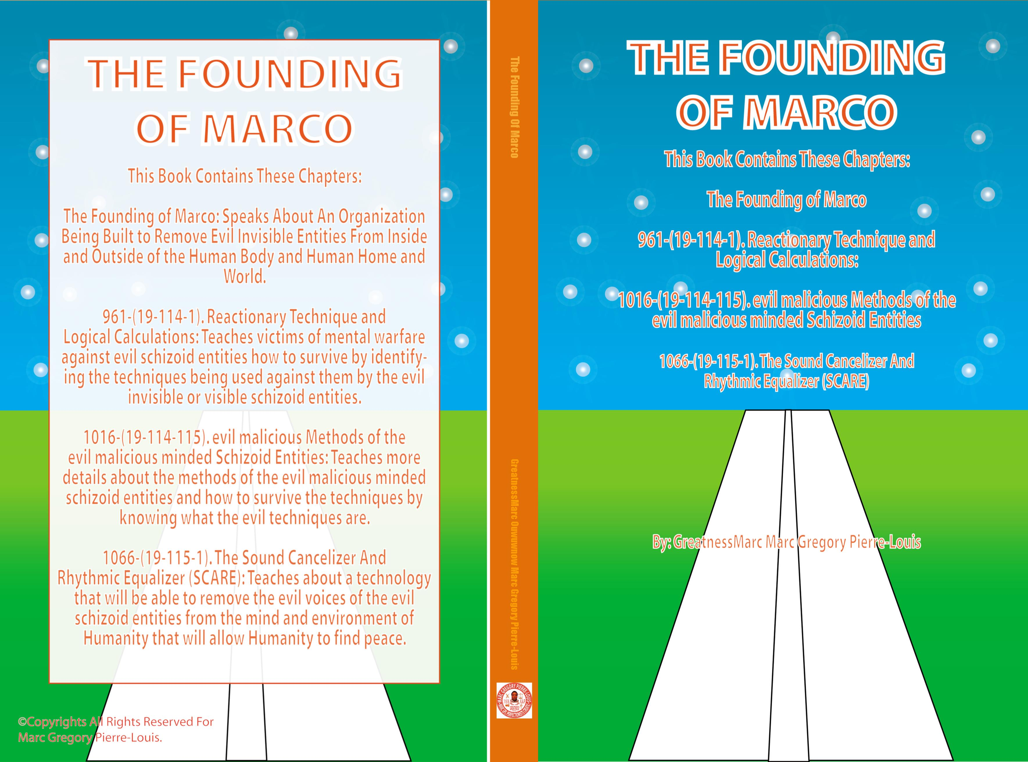 The Founding Of Marco cover image