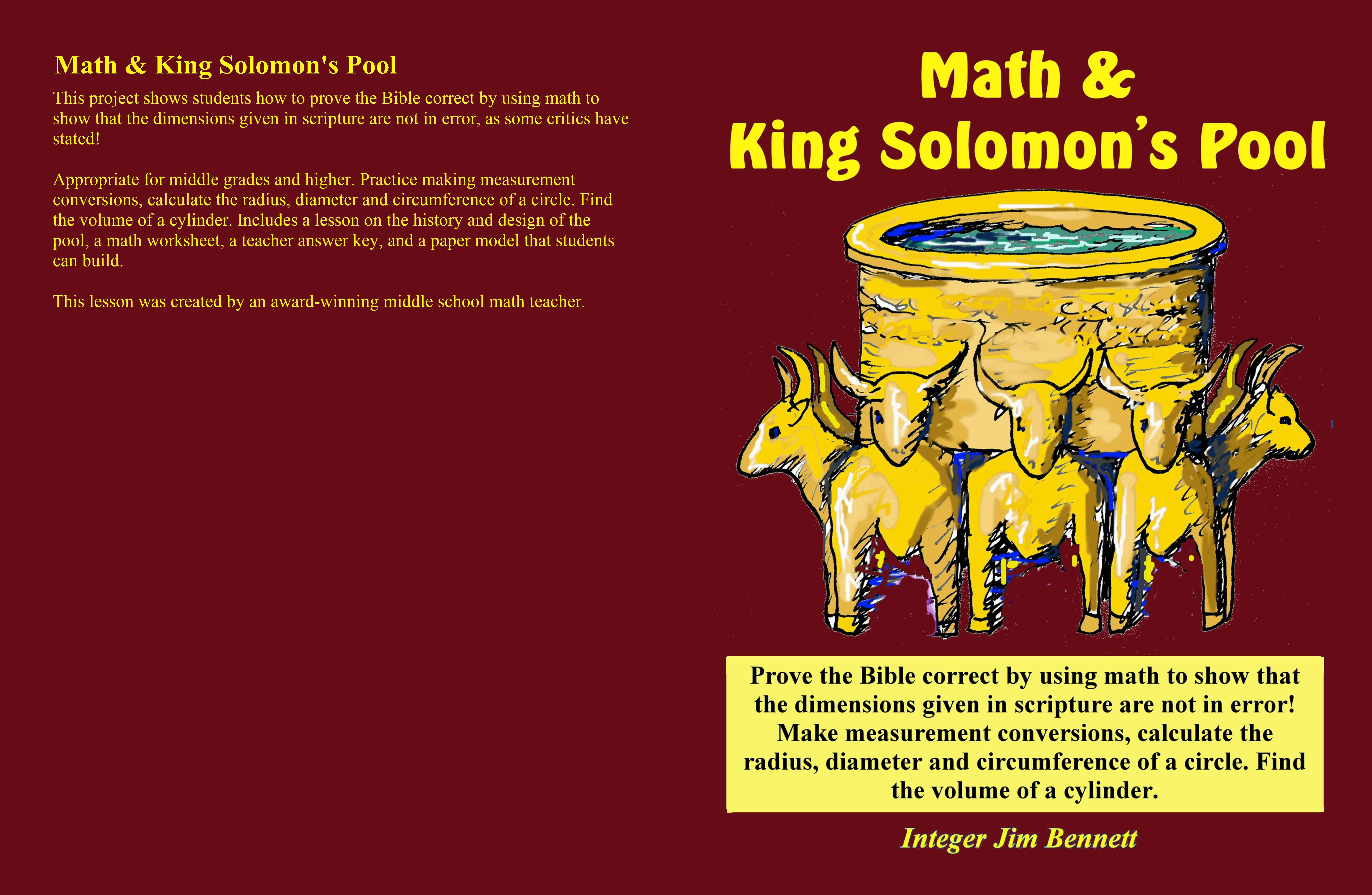Math and King Solomon