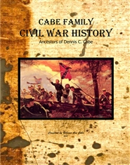Cabe Family Civil War History cover image