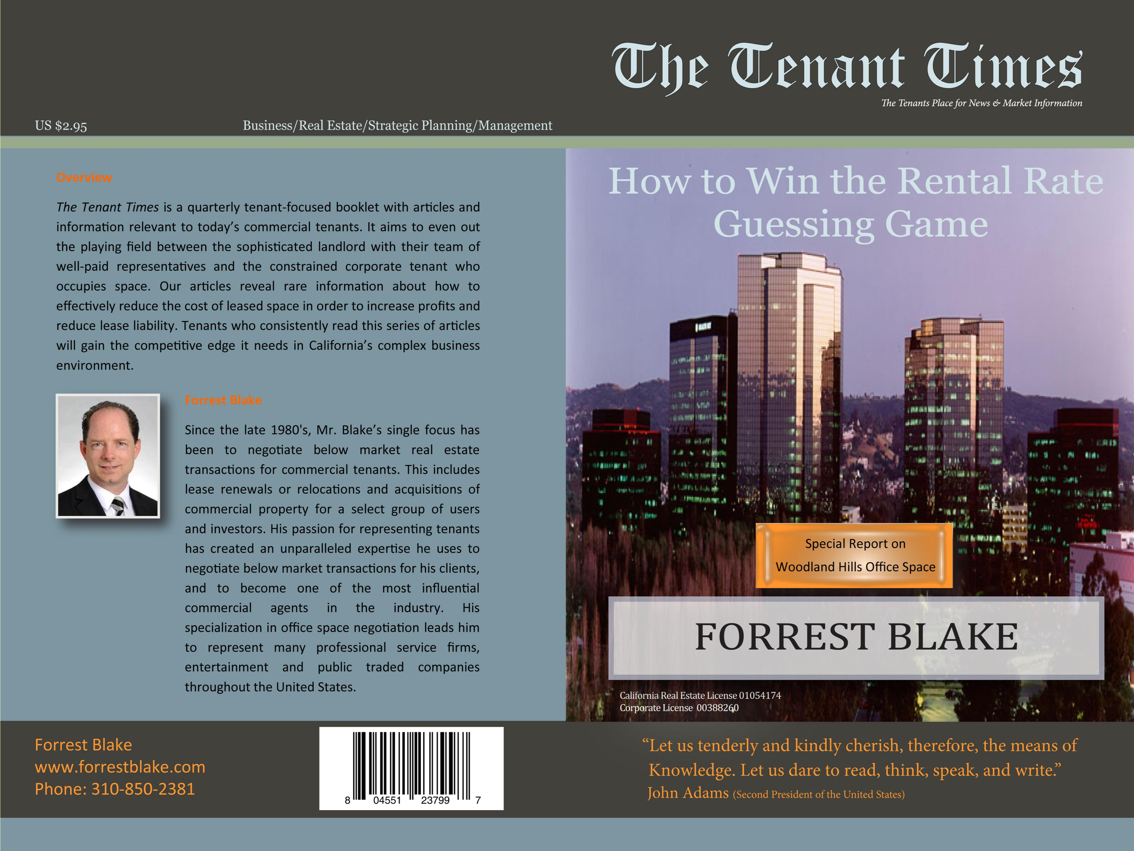 2Q13 Tenant Times Woodland Hills cover image