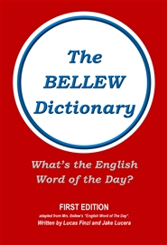 The Bellew Dictionary cover image