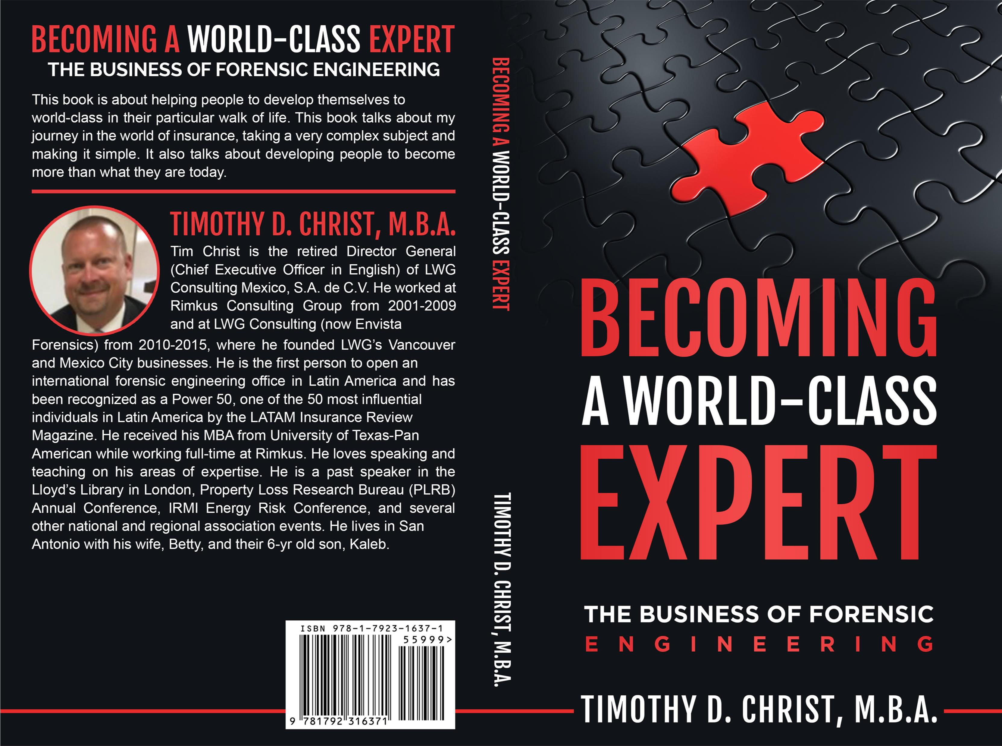Becoming a World-Class Expert: The Business of Forensic Engineering cover image