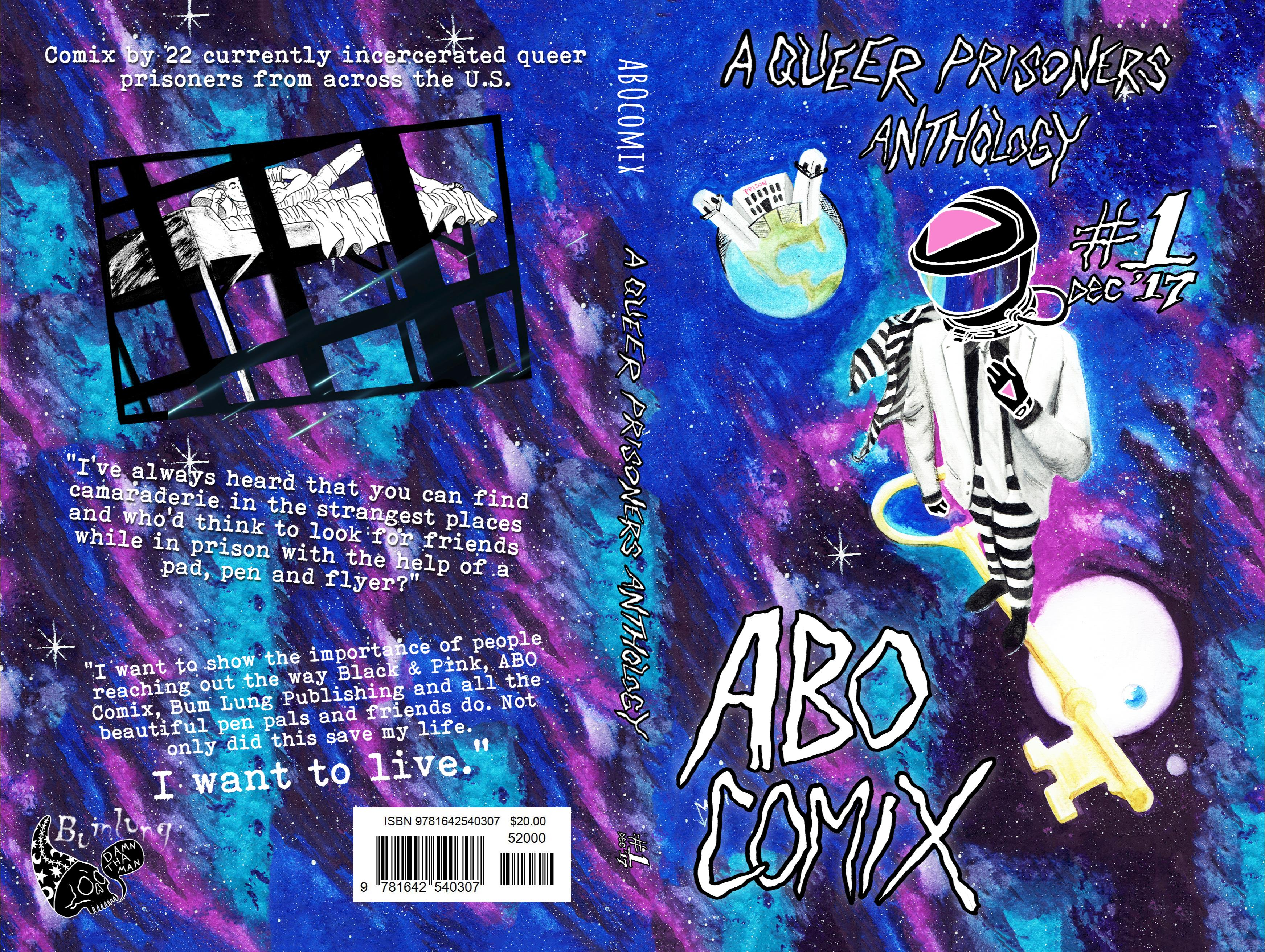 ABO Comix: A Queer Prisoners Anthology #1 cover image
