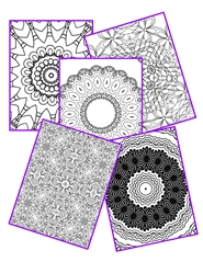 Zentangles Coloring Book 5 cover image