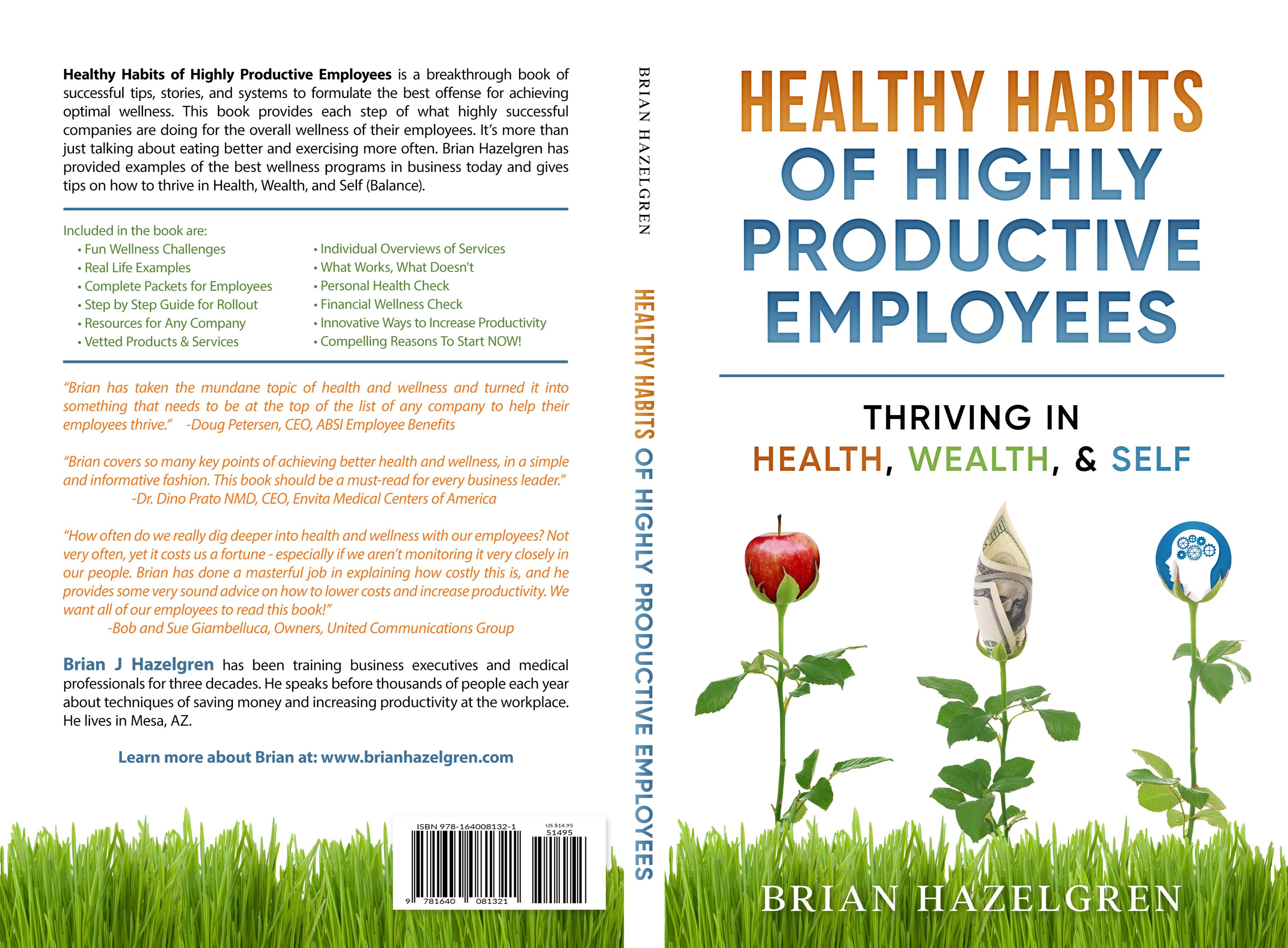 Healthy Habits of Highly Productive Employees cover image