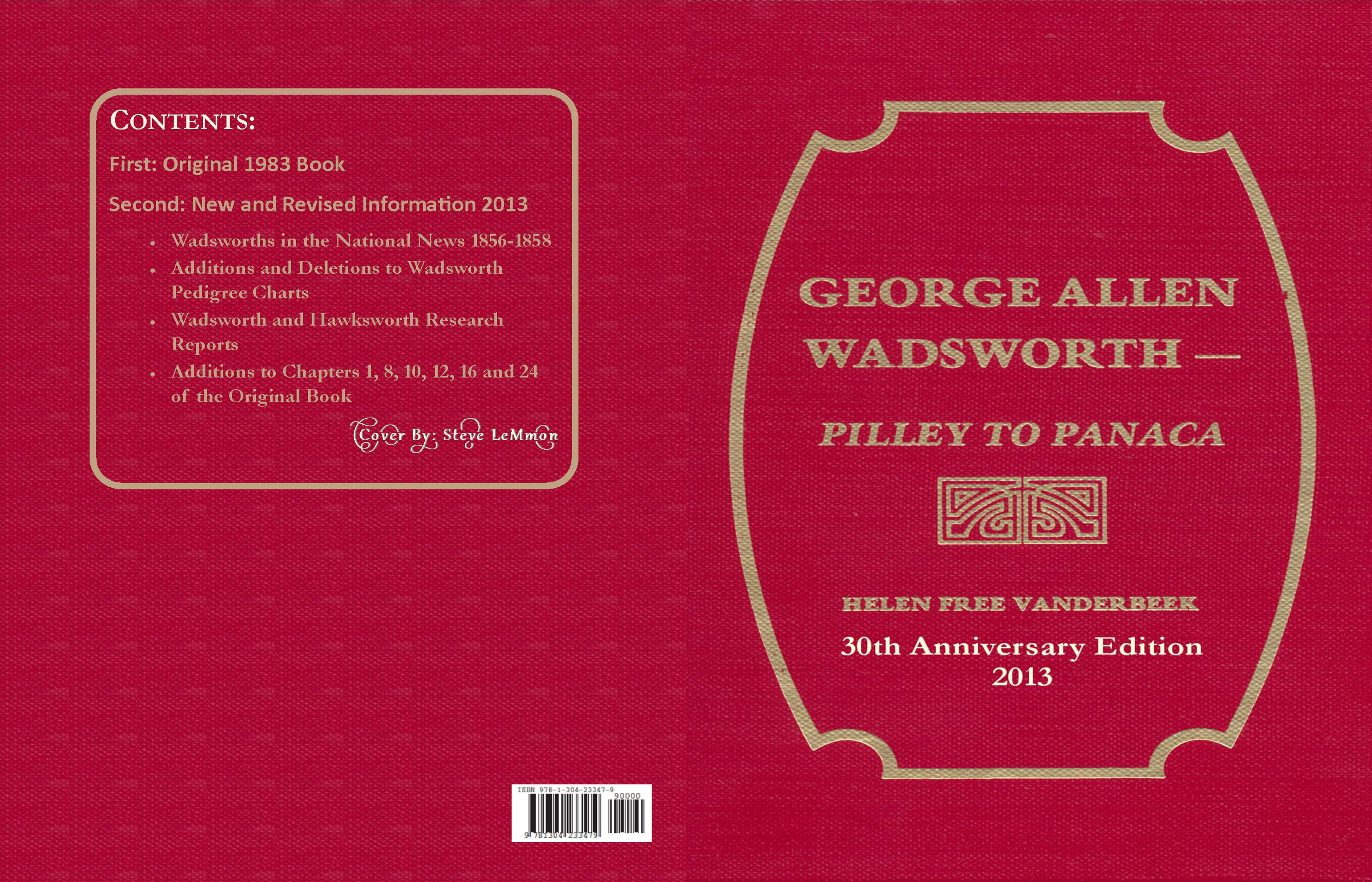 George Allen Wadsworth Pilley to Panaca cover image