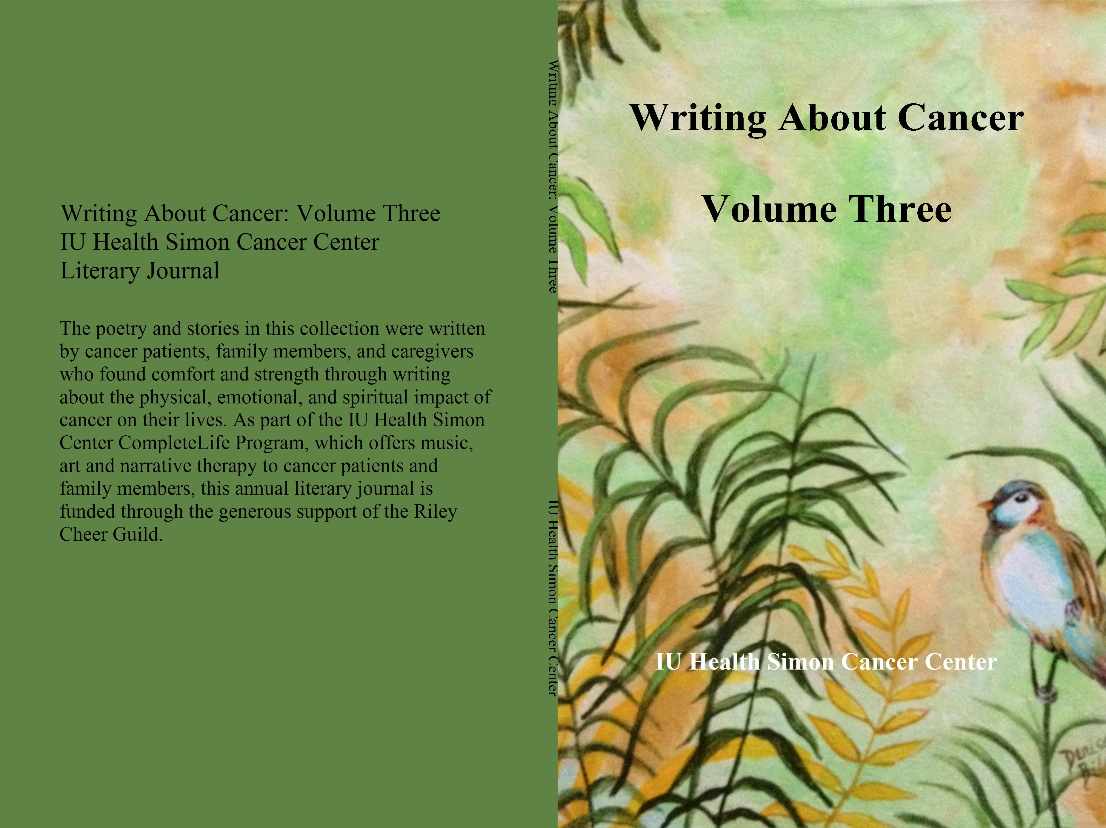 Writing About Cancer Volume Three cover image