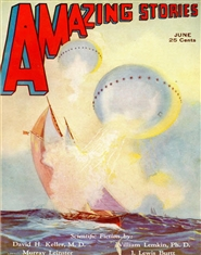 Amazing Stories 1932 June cover image