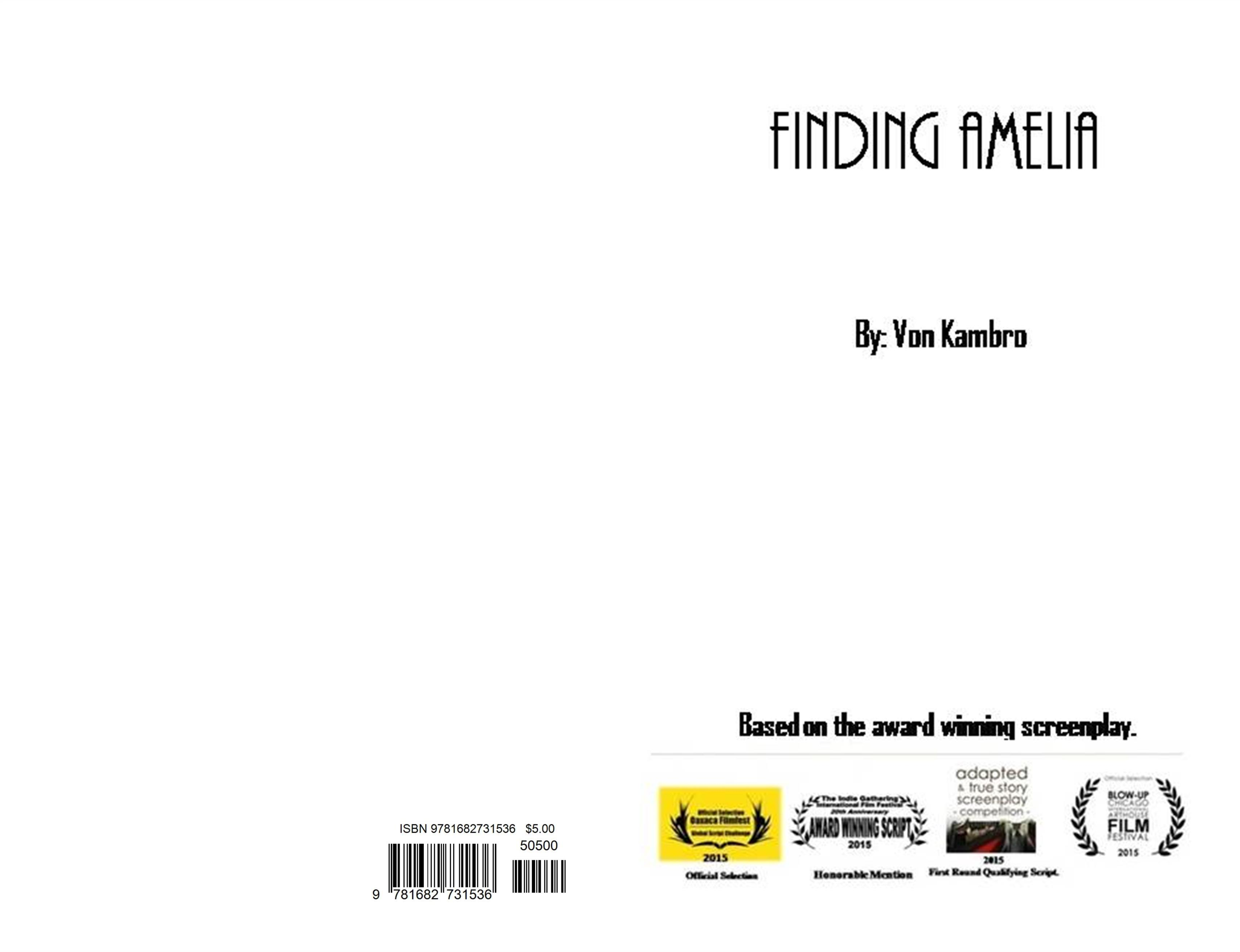 Finding Amelia. cover image