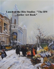 "Lunch at the Ritz Studios ""The BW Atelier Art Book"" cover image"