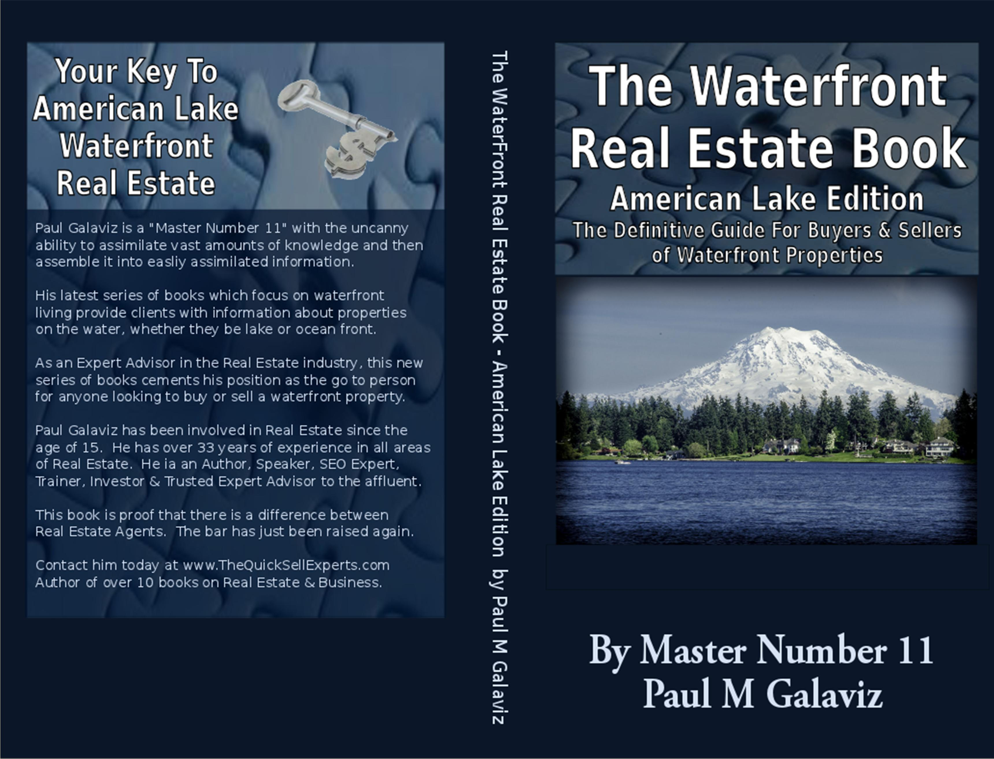 The Waterfront Real Estate Book-American Lake Edition cover image