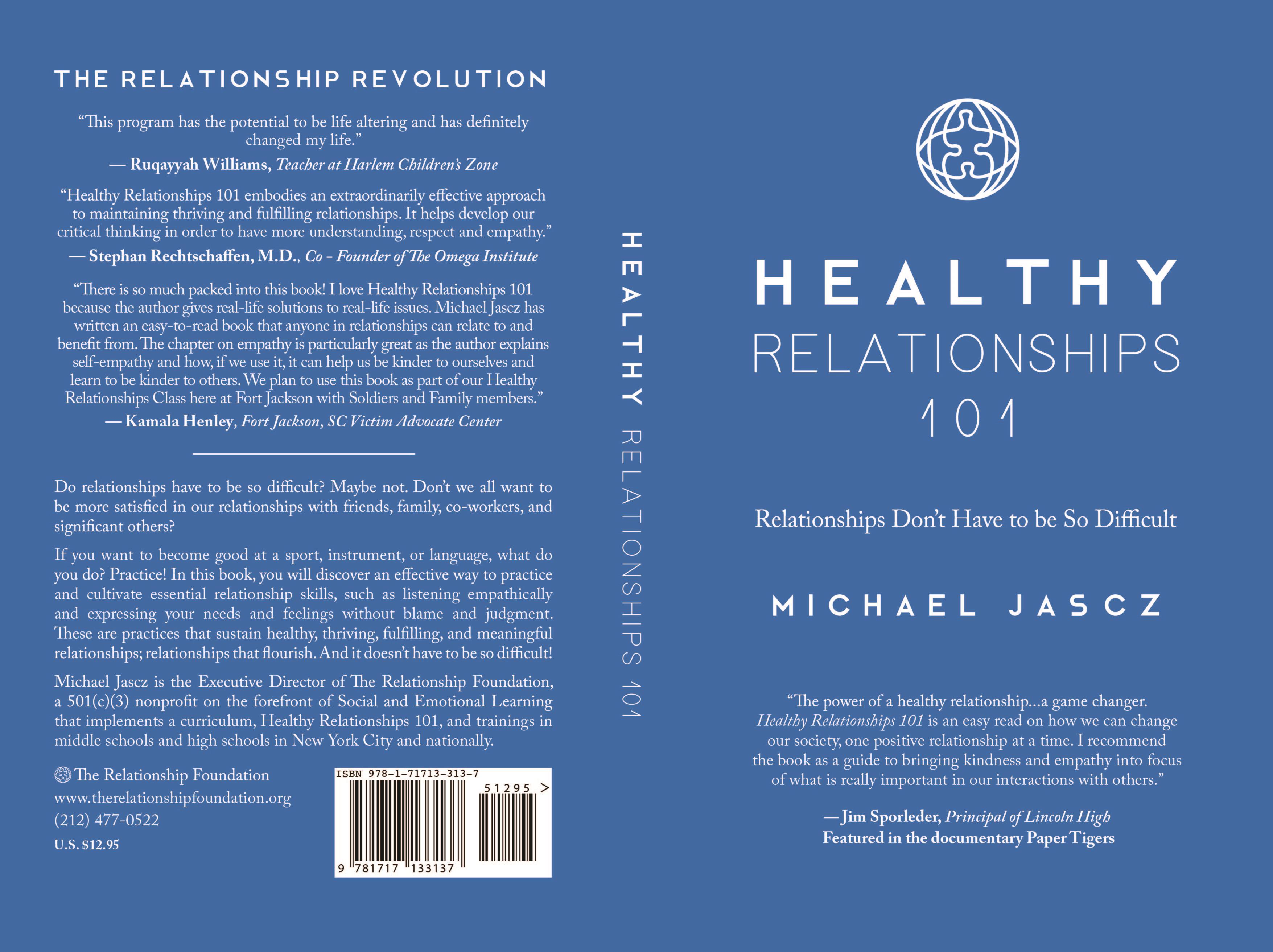 Healthy Relationships 101 Jim Sporleder cover image