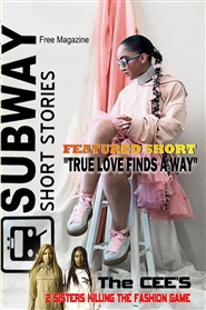 Subway Short Stories the Magazine cover image