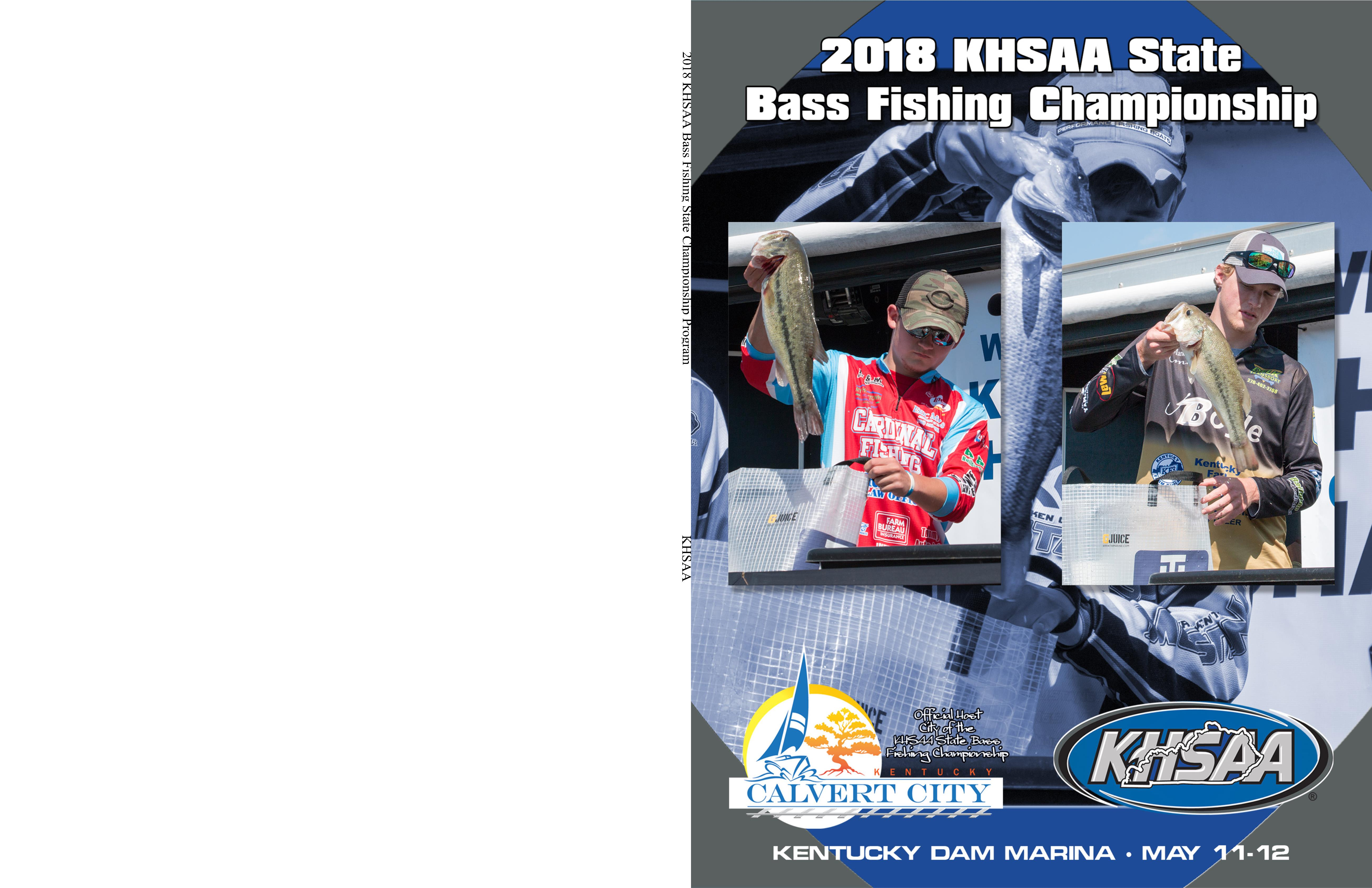 2018 KHSAA Bass Fishing State Championship Program cover image