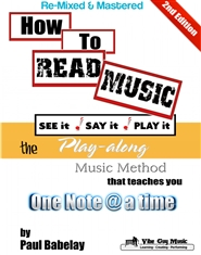 How To Read Music - See it, Say it, Play it cover image