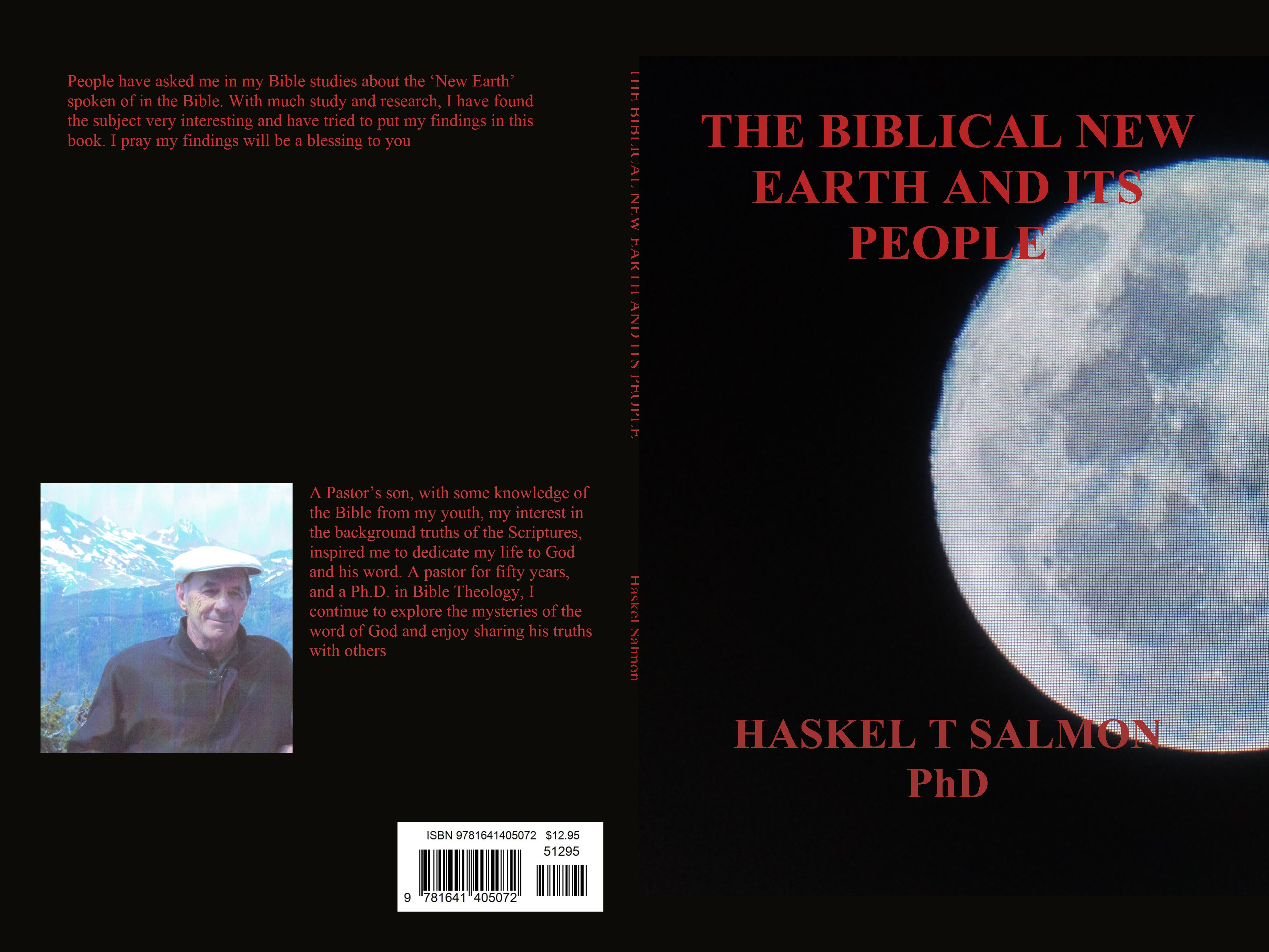 THE BIBLICAL NEW EARTH AND ITS PEOPLE cover image