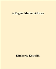 A Region Motion Africaa cover image