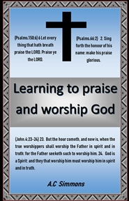 Learning to Praise and Worship God cover image