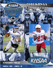 2018 KHSAA Commonwealth Gridiron Bowl Program (B&W) cover image